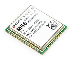 GSM/GPRS module Quectel M66 is proud to be small and that it has a