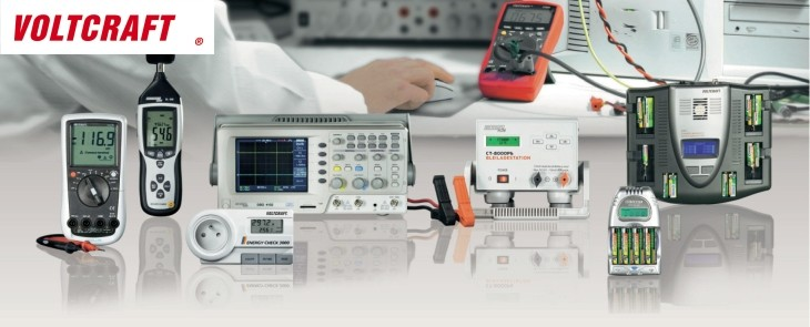 Want to get 3-years warranty on T&M equipment? Get Voltcraft!