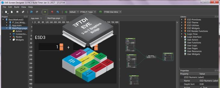 Simple graphic HMI design? ESD 3.x will solve it