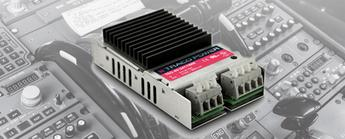 Small and Rugged 40W Converters for Railway Applications