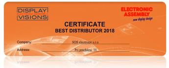 "SOS electronic as the ""Best Distributor of Electronic Assembly Products"""