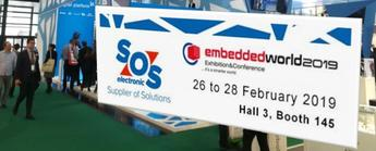 SOS electronic Exhibits at Embedded World 2019