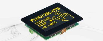 EA PlugL – OLED Display with USB and Touch Panel
